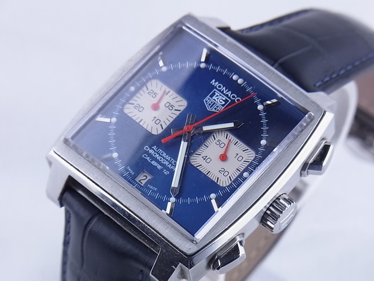 タグホイヤー モナコ CAW2111.FC6183 買取り実績 フェイス斜め画像 時計を売るならピアゾ(PIAZO)