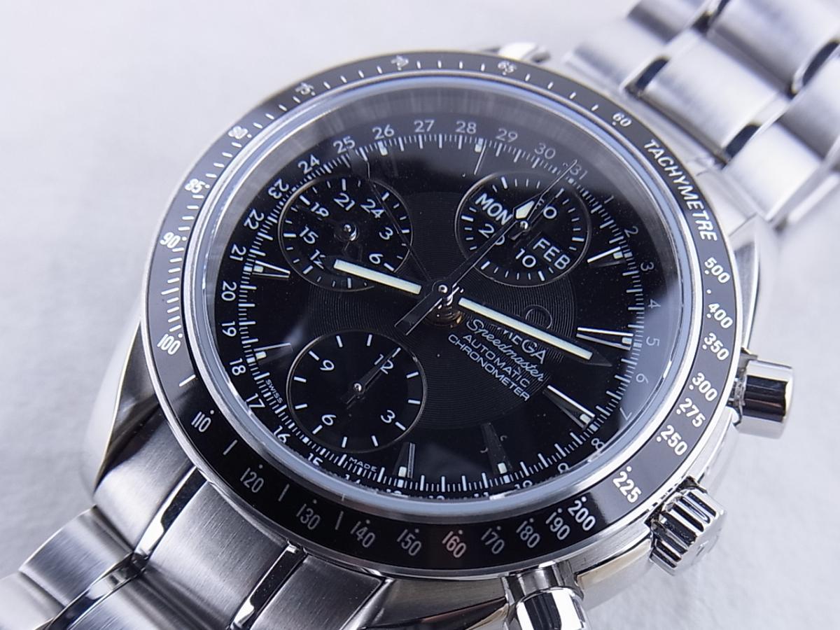 オメガ スピードマスター3220.50 買取り実績 フェイス斜め画像 時計を売るならピアゾ(PIAZO)