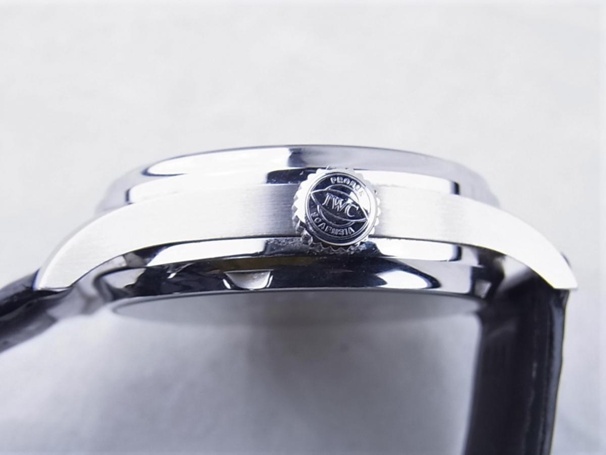 IWC ポルトギーゼ7デイズブラックIW500109 買い取り実績 3時リューズサイド画像 時計を売るならピアゾ(PIAZO)