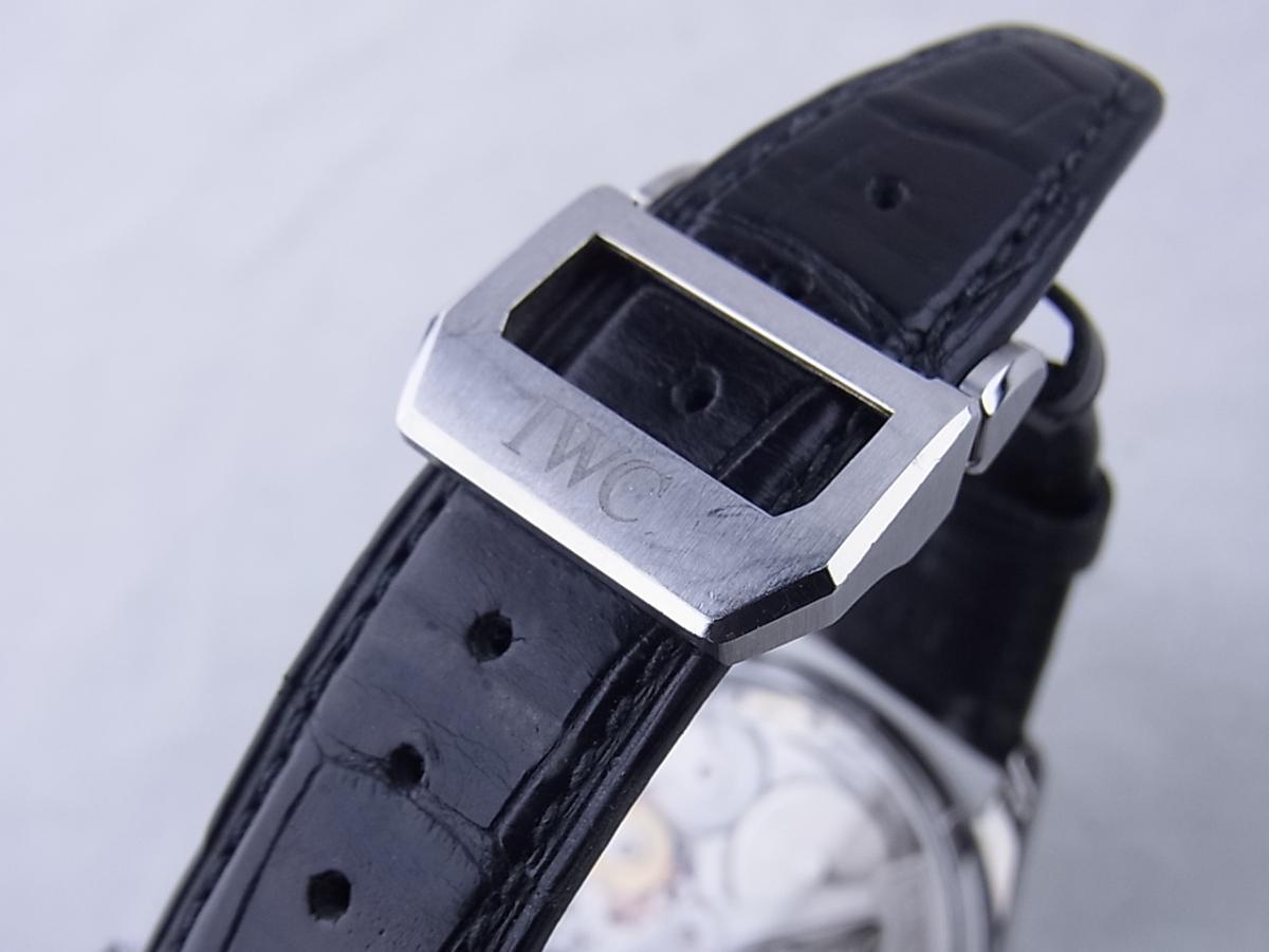 IWC ポルトギーゼ7デイズブラックIW500109 高価売却 バックル画像 時計を売るならピアゾ(PIAZO)
