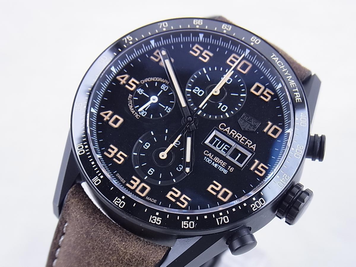 タグホイヤー カレラキャリバー16 CV2A84.FC6394 買取り実績 フェイス斜め画像 時計を売るならピアゾ(PIAZO)