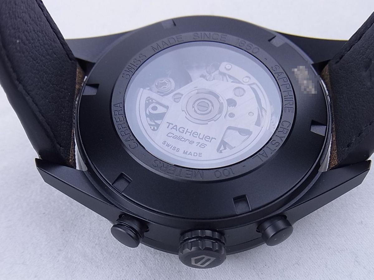 タグホイヤー カレラキャリバー16 CV2A84.FC6394 売却実績 裏蓋シースルーバック画像 時計を売るならピアゾ(PIAZO)