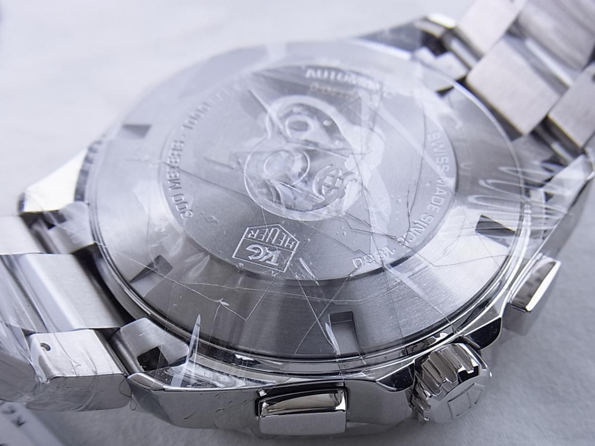 タグホイヤー アクアレーサーキャリバー16 CAY2110.BA0927 売却実績 裏蓋画像 時計を売るならピアゾ(PIAZO)