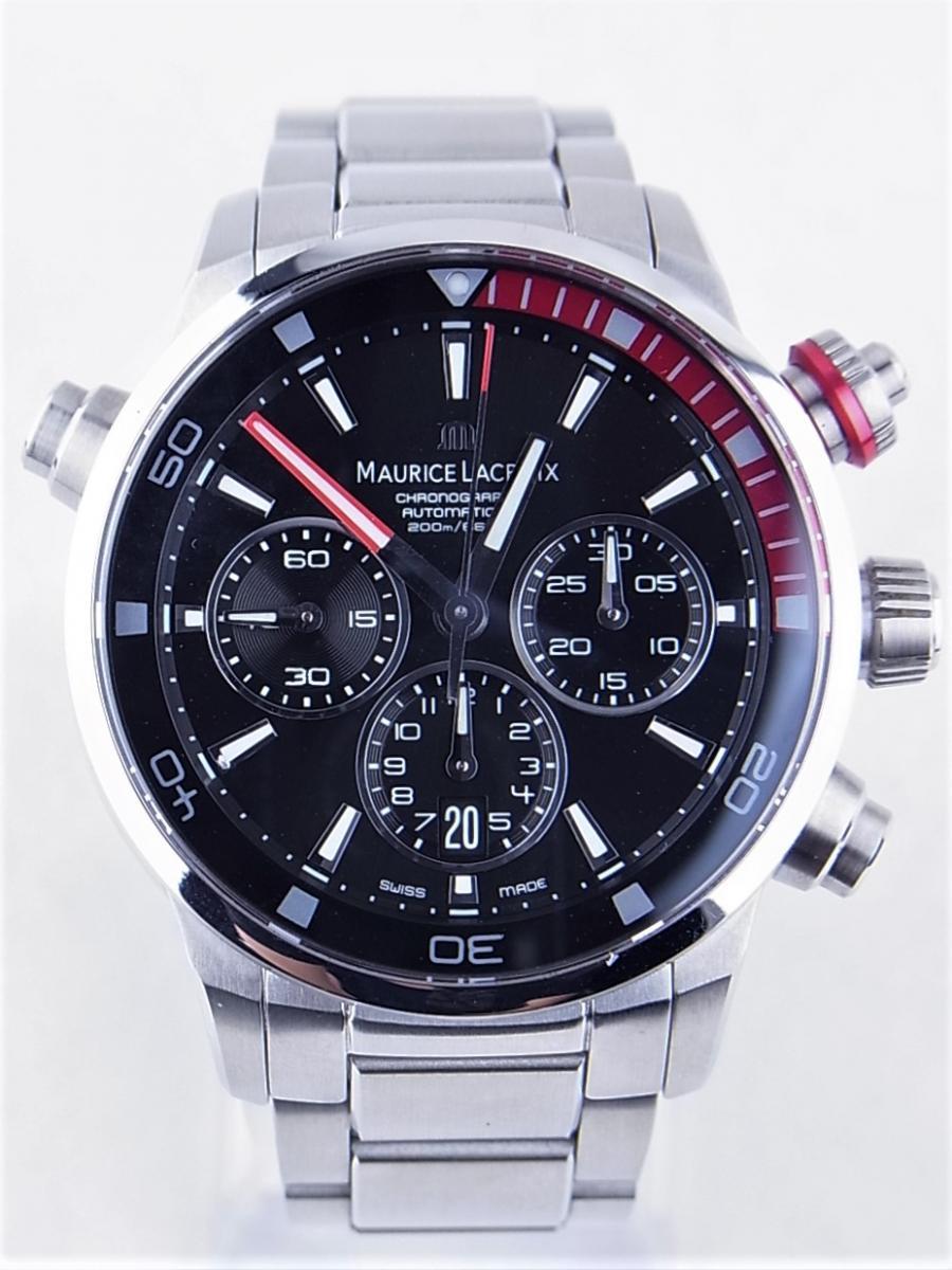 モーリスラクロア ポントス クロノグラフ PT6018-SS002-330 自動巻 買取実績 正面全体画像 時計を売るならピアゾ(PIAZO)