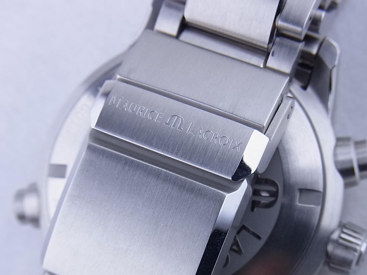 モーリスラクロア ポントス クロノグラフ PT6018-SS002-330 高価売却 バックル画像 時計を売るならピアゾ(PIAZO)