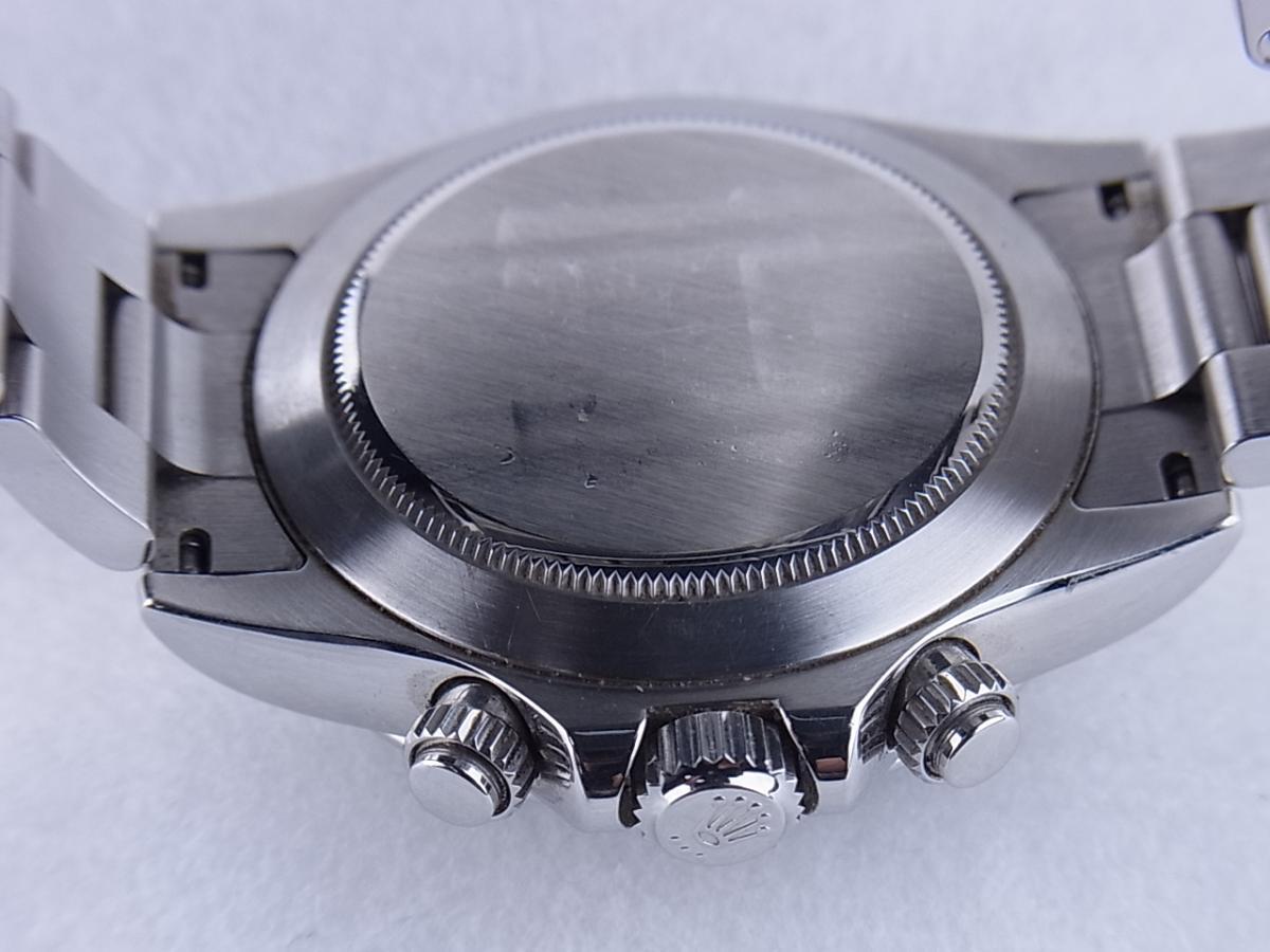 ロレックス デイトナ 116520 売却実績 裏蓋画像 時計を売るならピアゾ(PIAZO)