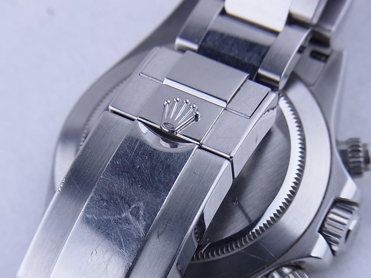 ロレックス デイトナ 116520 高価売却 バックル画像 時計を売るならピアゾ(PIAZO)
