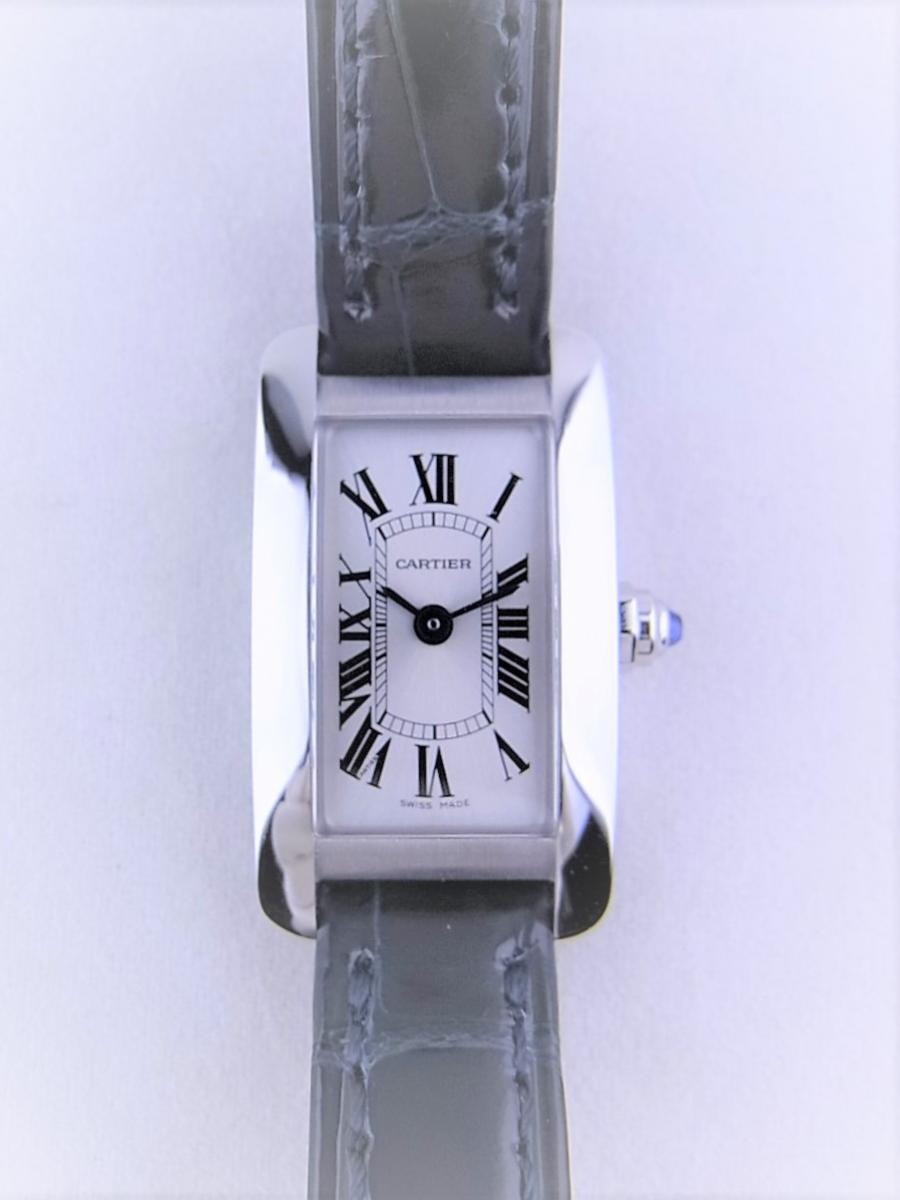 カルティエタンクアメリカンミニ日本限定モデル WSTA0032 買取実績 正面全体画像 時計を売るならピアゾ(PIAZO)