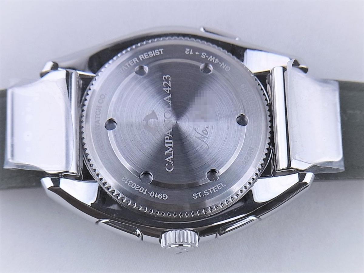 シチズン カンパノラBZ0030-16E G910-T20313 売却実績 裏蓋画像 時計を売るならピアゾ(PIAZO)
