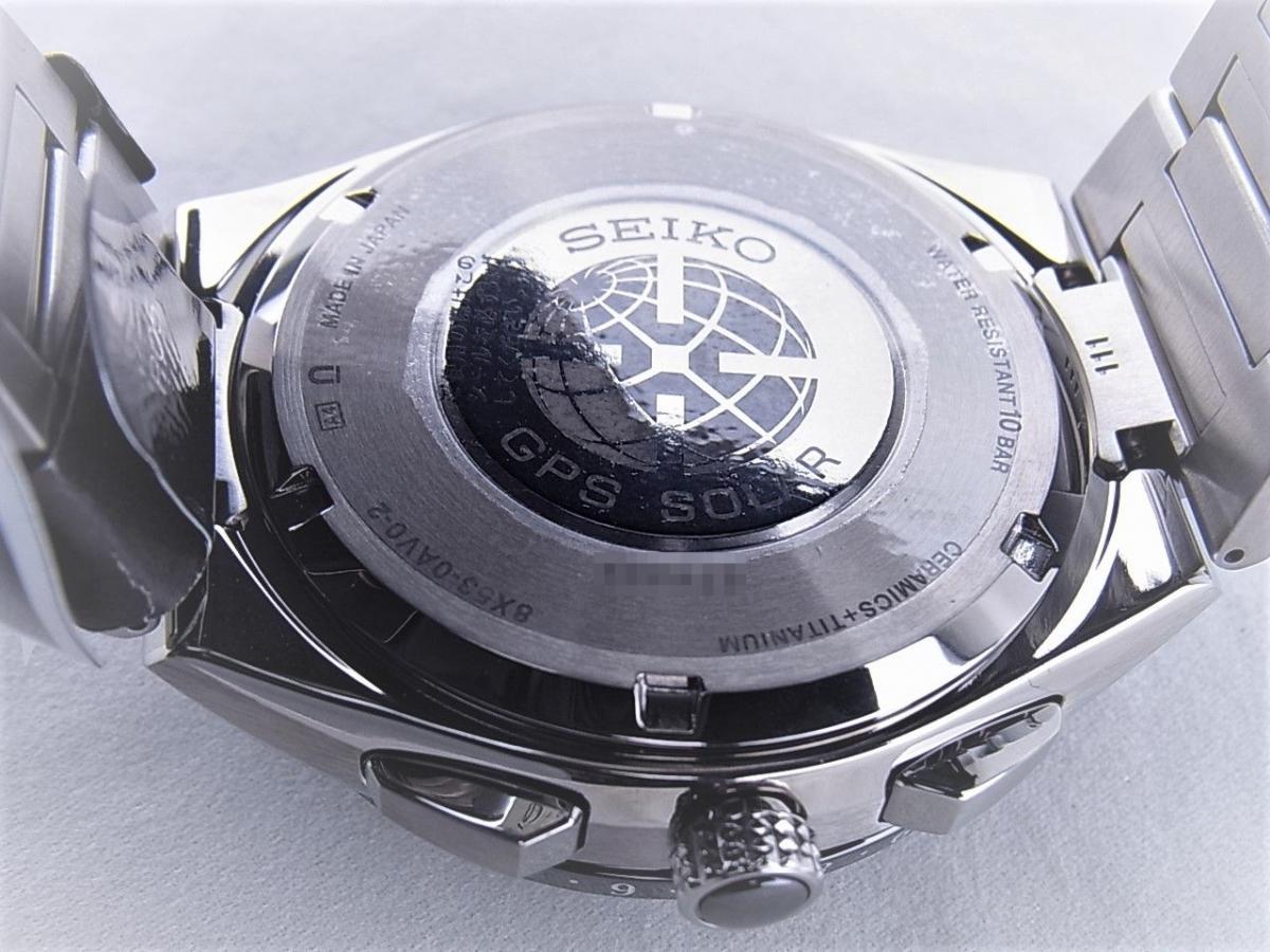 セイコー アストロンエクゼクティブライン8X53-0AV0-2 SBXB123 売却実績 裏蓋画像 時計を売るならピアゾ(PIAZO)