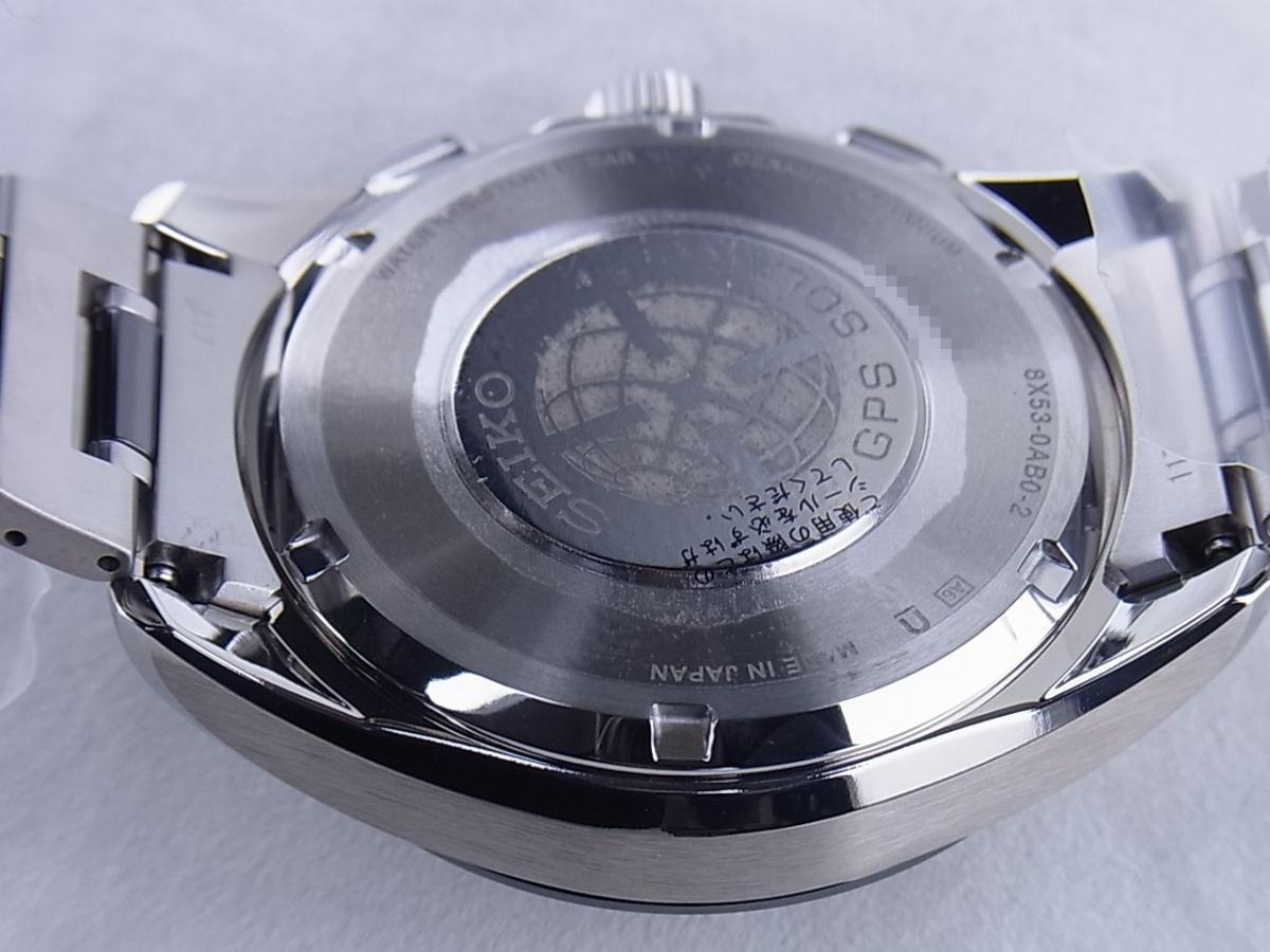 セイコー アストロンSBXB041 8X53-0AB0-2 売却実績 裏蓋画像 時計を売るならピアゾ(PIAZO)