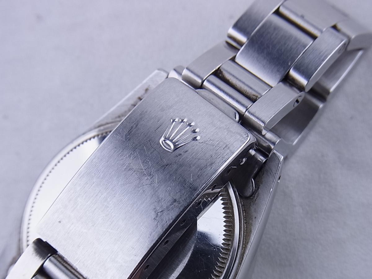 ロレックス オイスターパーペチュアルデイト型番15010 高価売却 バックル画像 時計を売るならピアゾ(PIAZO)
