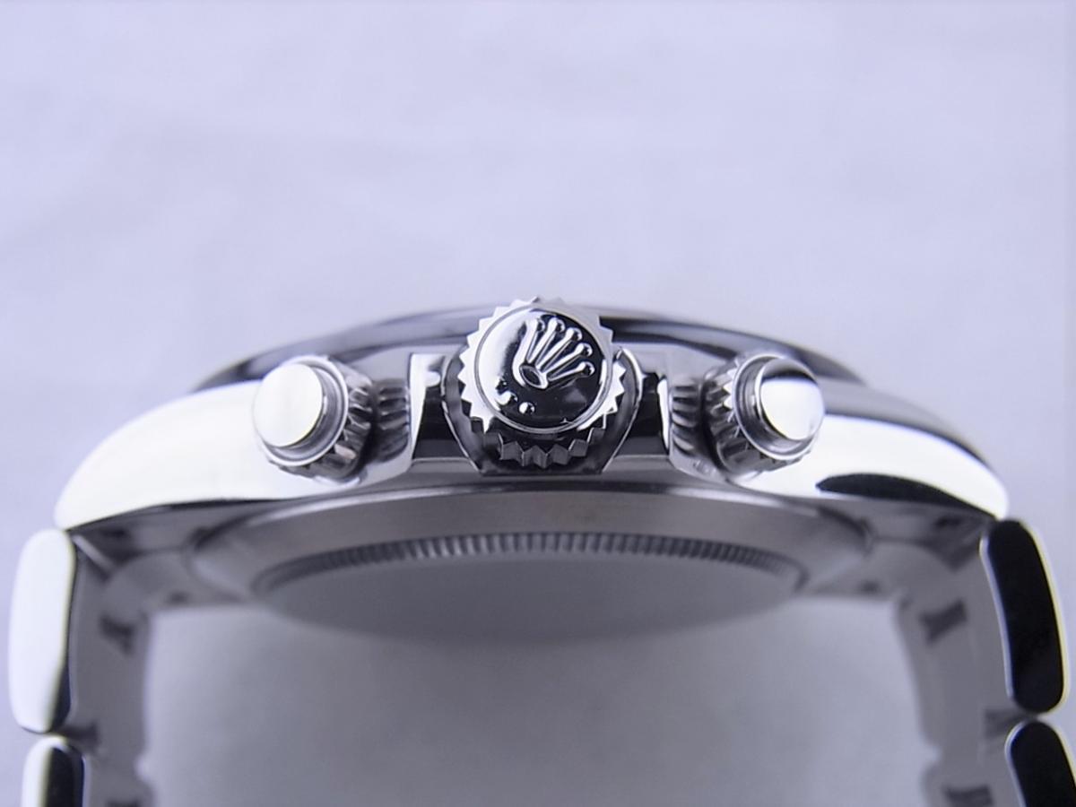 ロレックス デイトナ 116500LN 黒文字盤 買い取り実績 3時リューズサイド画像 時計を売るならピアゾ(PIAZO)