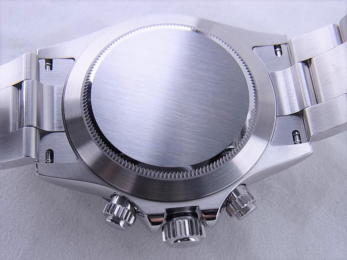 ロレックス デイトナ 116500LN 黒文字盤 売却実績 裏蓋画像 時計を売るならピアゾ(PIAZO)