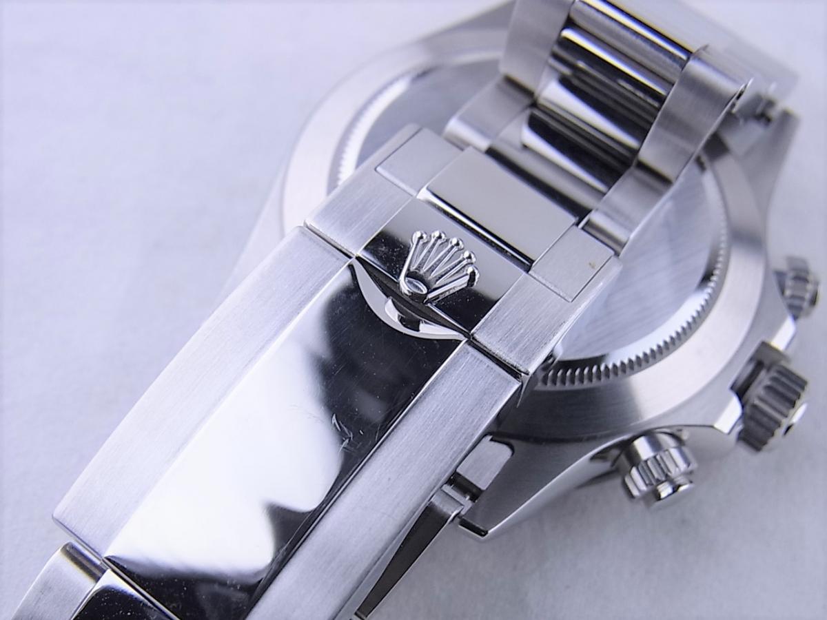 ロレックス デイトナ 116500LN 黒文字盤 高価売却 バックル画像 時計を売るならピアゾ(PIAZO)