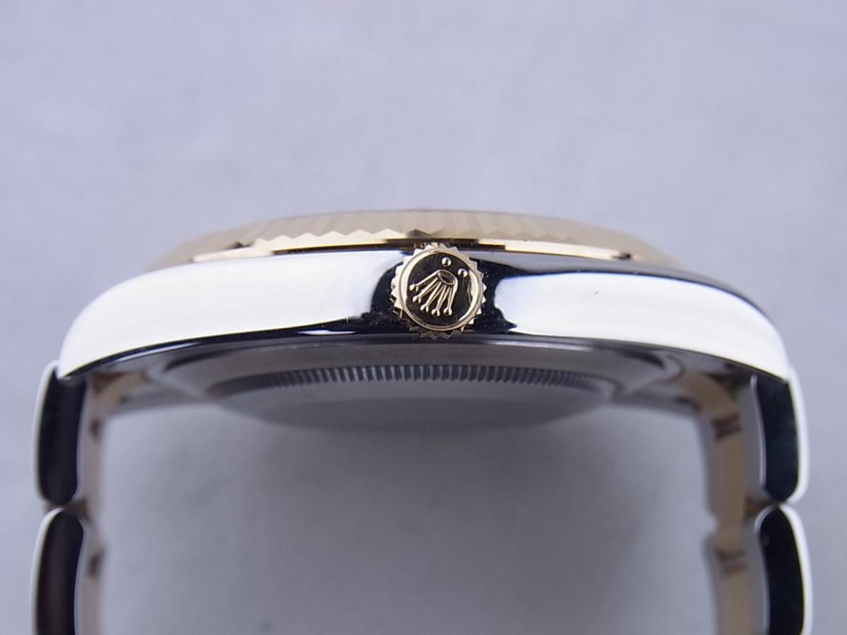 ロレックス デイトジャストⅡ 116333G 買い取り実績 3時リューズサイド画像 時計を売るならピアゾ(PIAZO)