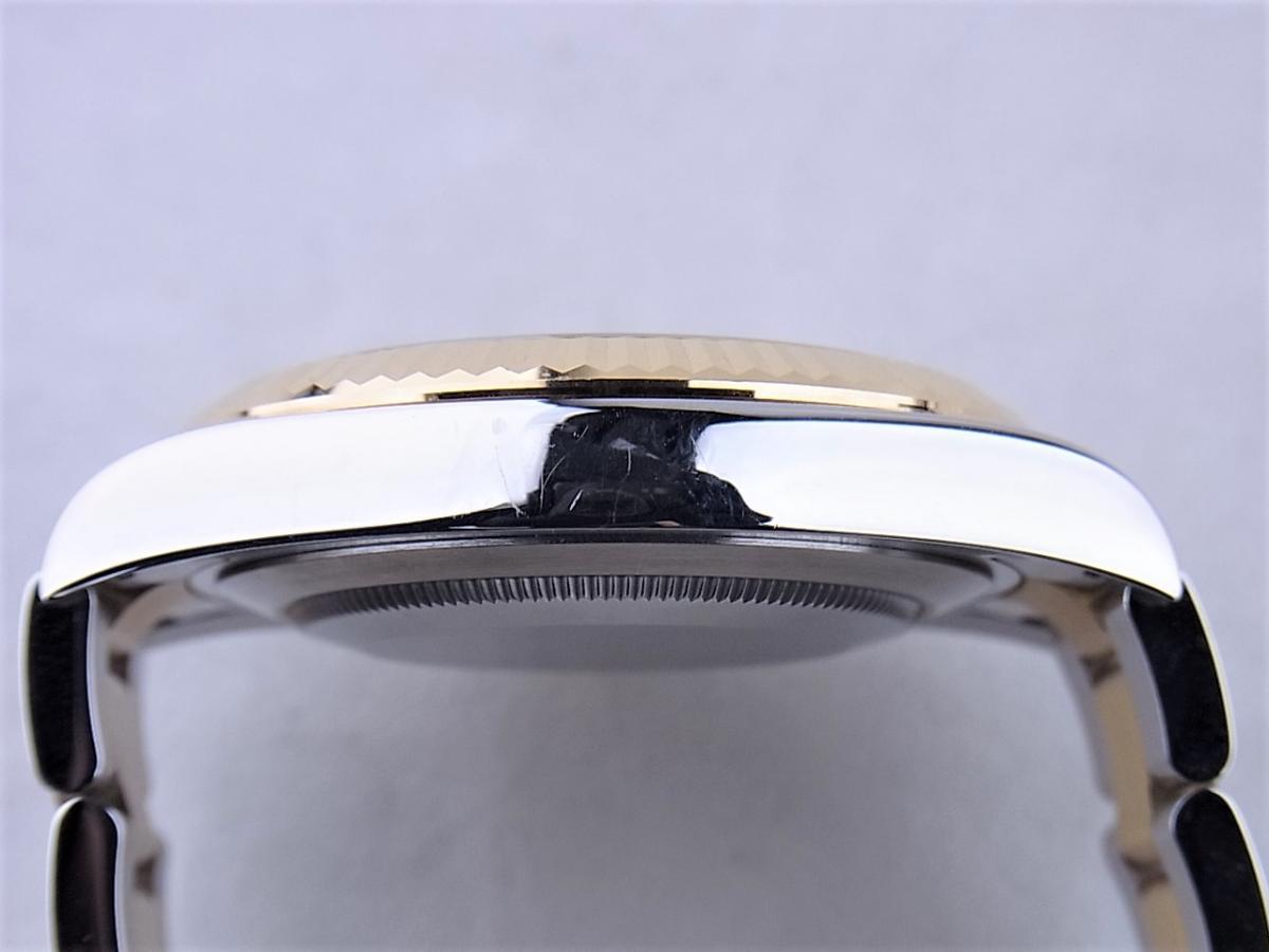 ロレックス デイトジャストⅡ 116333G 高額売却実績 9時ケースサイド画像 時計を売るならピアゾ(PIAZO)