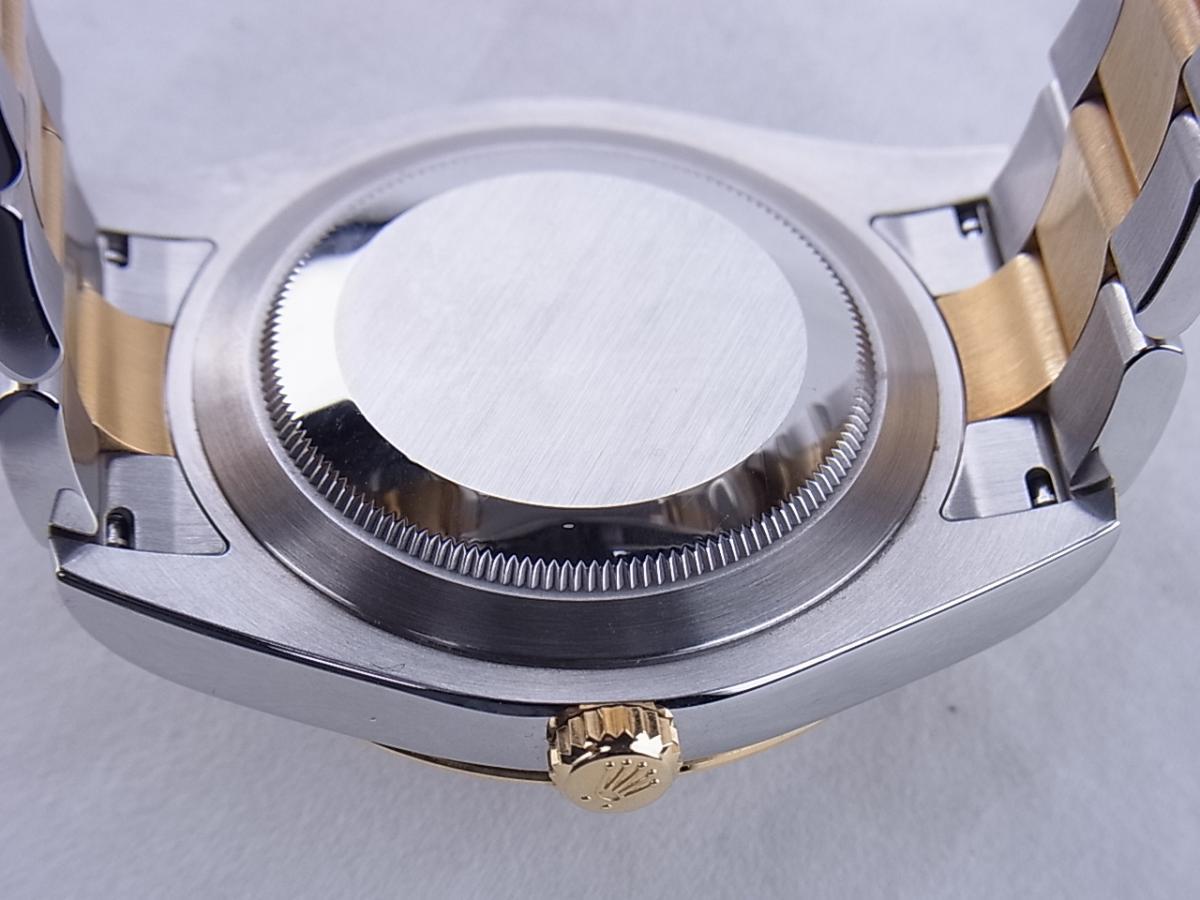 ロレックス デイトジャストⅡ 116333G 売却実績 裏蓋画像 時計を売るならピアゾ(PIAZO)
