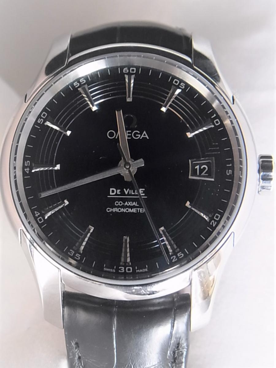 オメガ デビル431.33.41.21.03.001 買取実績 正面全体画像 時計を売るならピアゾ(PIAZO)