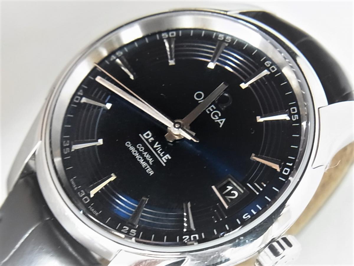 オメガ デビル431.33.41.21.03.001 買取り実績 フェイス斜め画像 時計を売るならピアゾ(PIAZO)