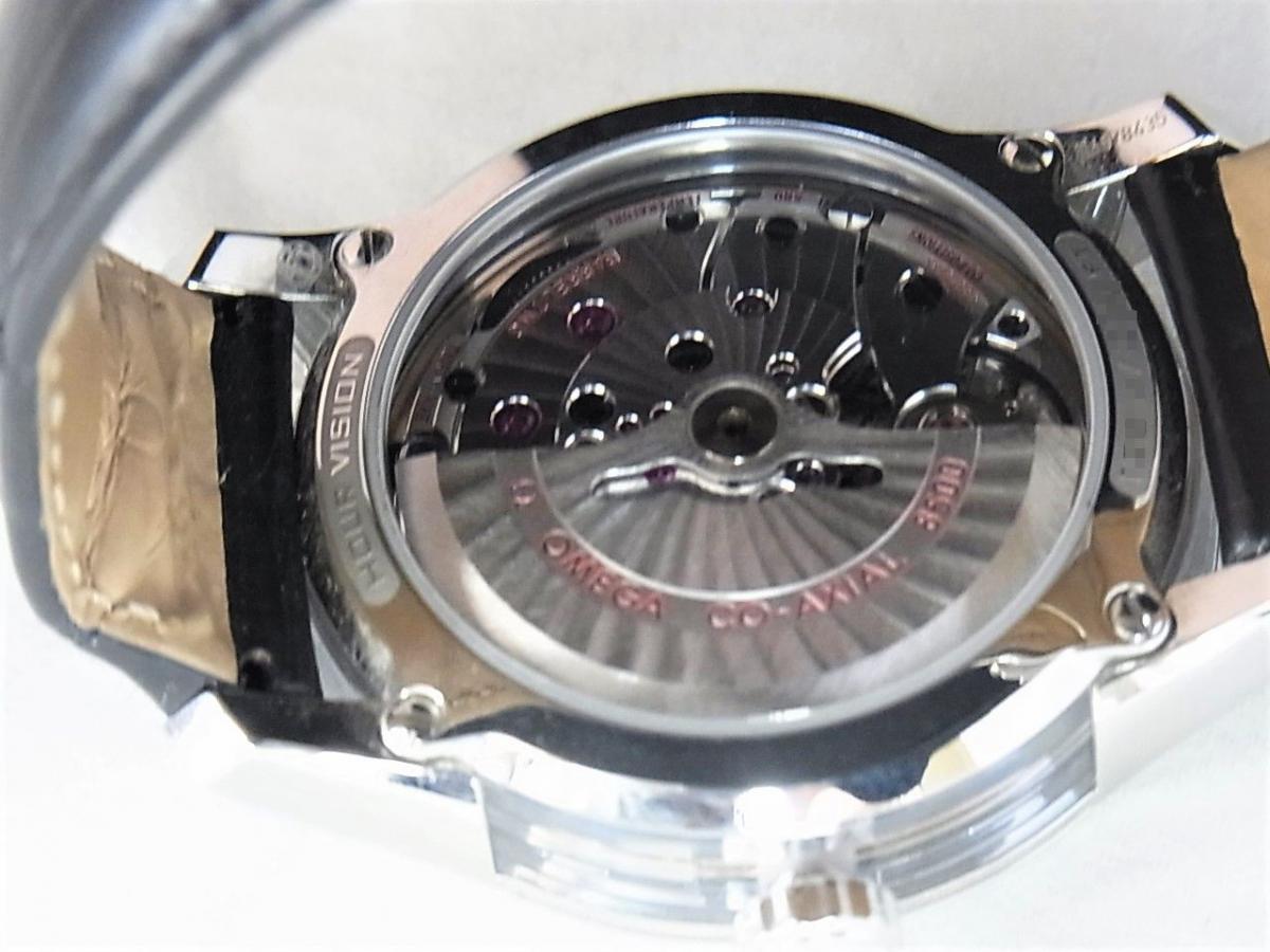 オメガ デビル431.33.41.21.03.001 売却実績 裏蓋シースルーバック画像 時計を売るならピアゾ(PIAZO)