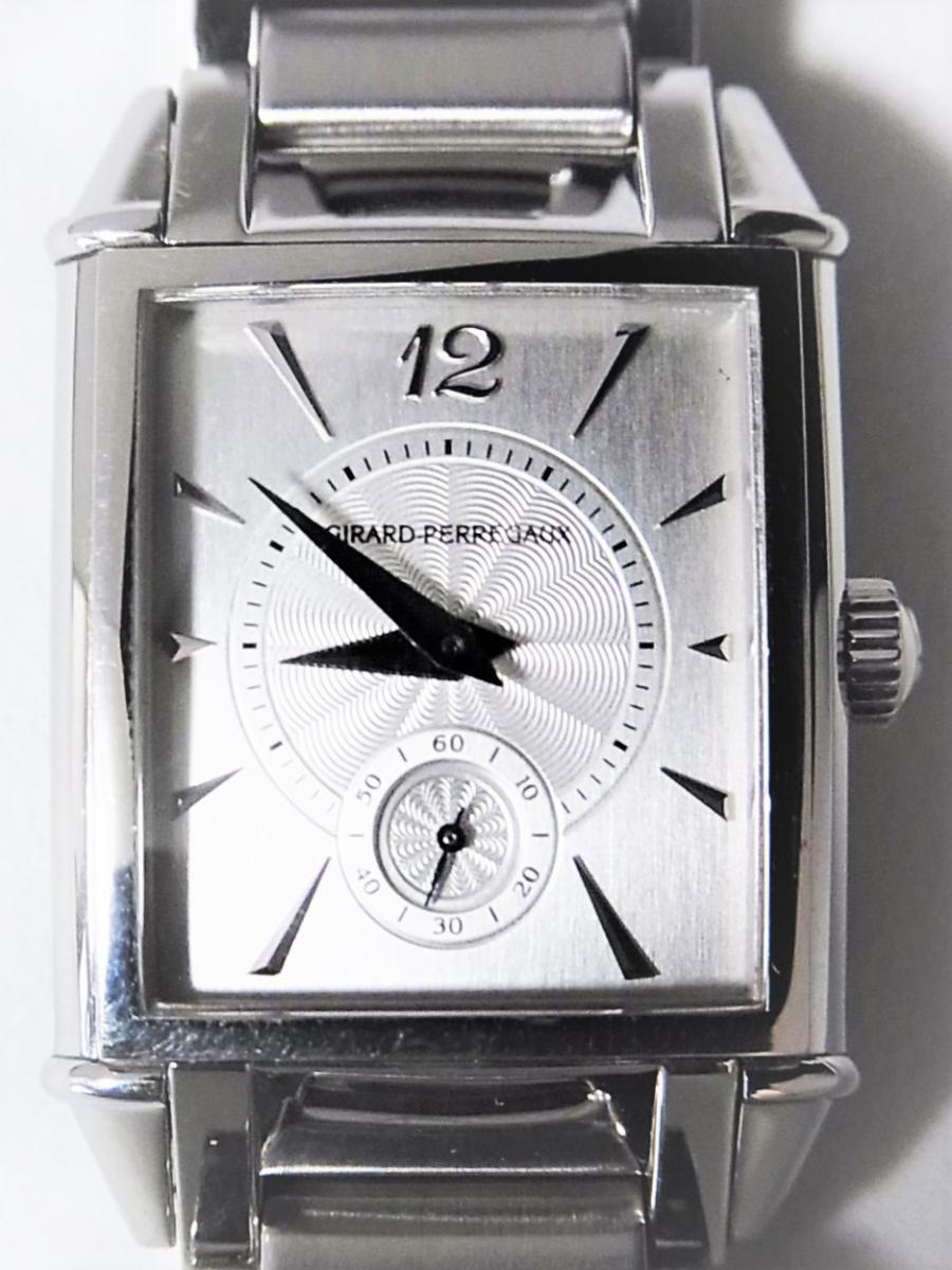 ジラールペルゴ ヴィンテージ25930-11-165-1 アールデコスタイル 裏蓋スケルトン オートマチックモデル 買取実績 正面全体画像 時計を売るならピアゾ(PIAZO)