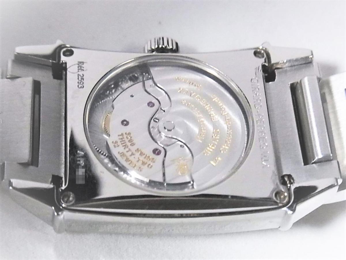 ジラールペルゴ ヴィンテージ25930-11-165-1 アールデコスタイル 裏蓋スケルトン オートマチックモデル 売却実績 裏蓋画像 時計を売るならピアゾ(PIAZO)
