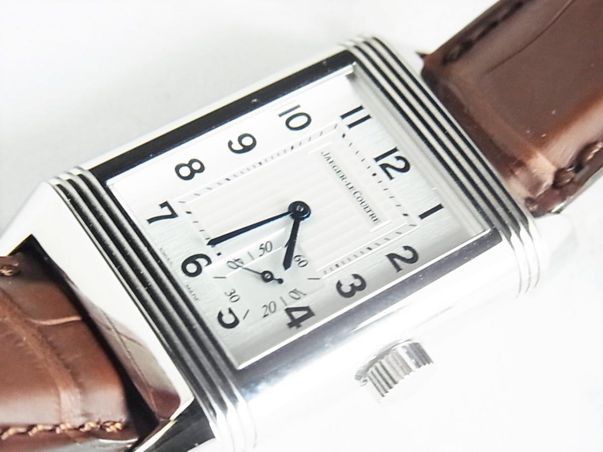 ジャガールクルト レベルソグランドリザーブQ301842J/240.8.14 日本限定50本 手巻きモデル 買取り実績 フェイス斜め画像 時計を売るならピアゾ(PIAZO)