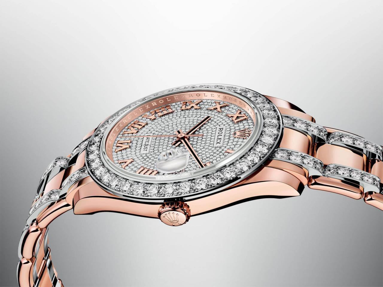 official photos 70b37 d8775 ロレックスが発表!貴石をセットした時計の中でも最高峰のモデル ...