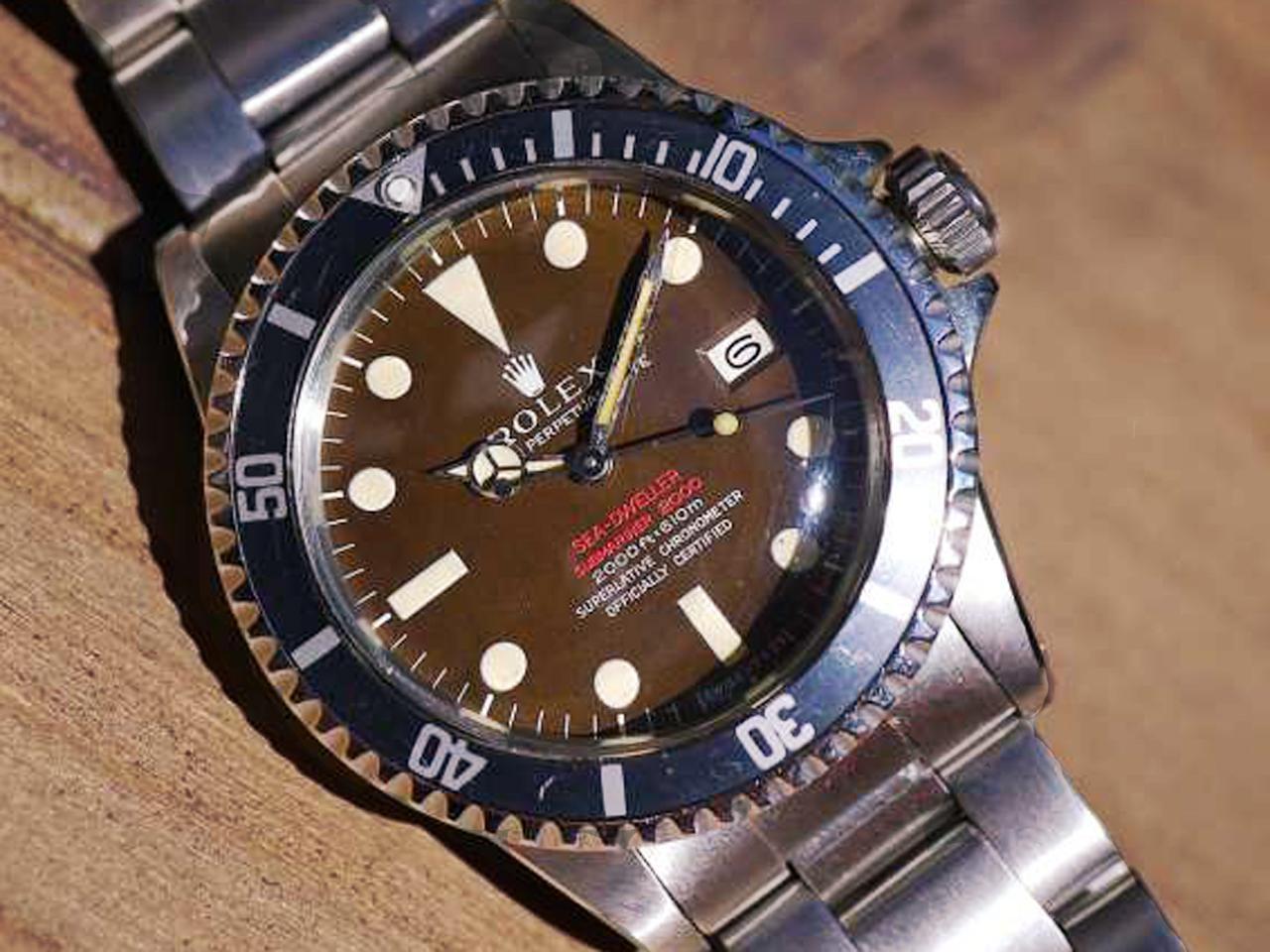 finest selection 02d88 5fb6f ロレックス シードゥエラー1665 ダブルレッド-マークⅡ ...