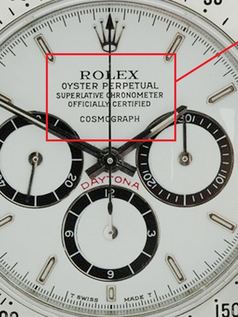 watch 6455c de333 ロレックス デイトナ 16520 MK-1!通称<段落ち>ダイヤルとは ...