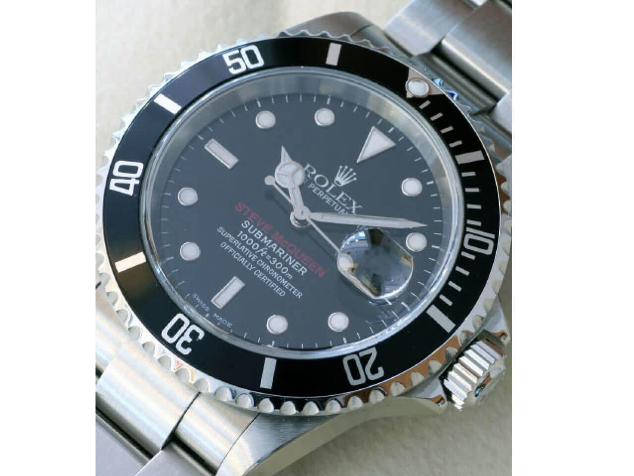 "660ebacac3 ロレックス(Rolex)のサブマリーナ(Submariner)16610 ""STEVE McQUEEN"""