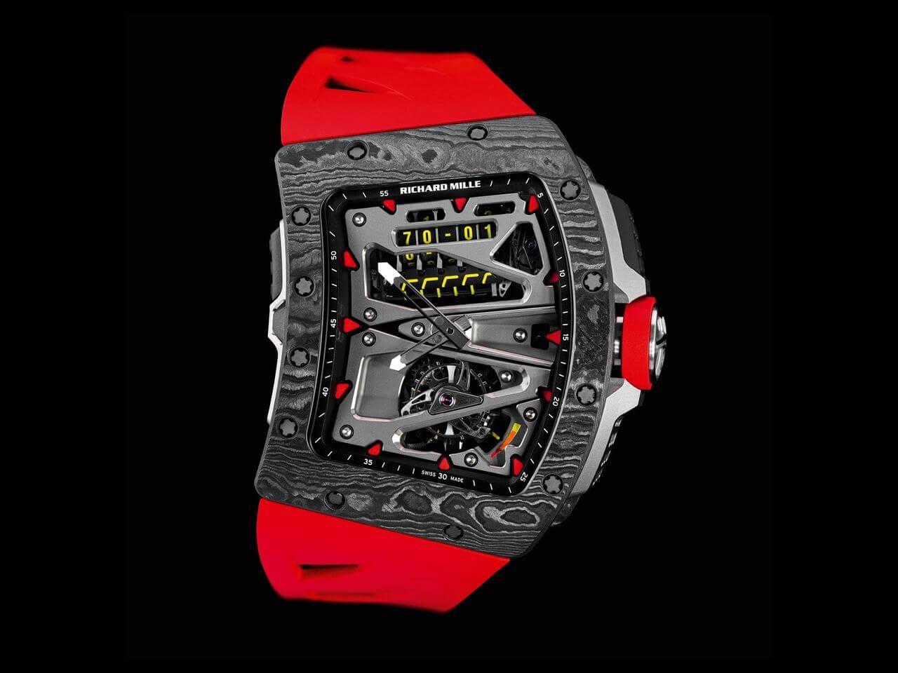 new style 461f7 9b5ca RICHARD MILLE(リシャール・ミル)新作 RM 70-01 トゥール ...