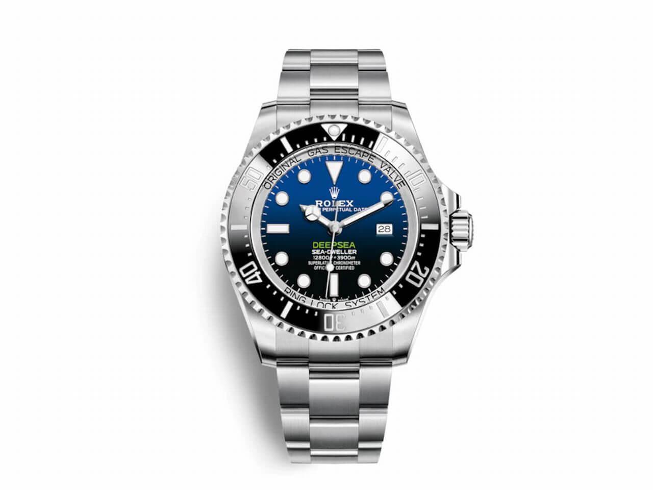 competitive price d2ba9 8a098 Ref.126660ロレックス2018新作ディープシーD-BLUEダイヤル ...