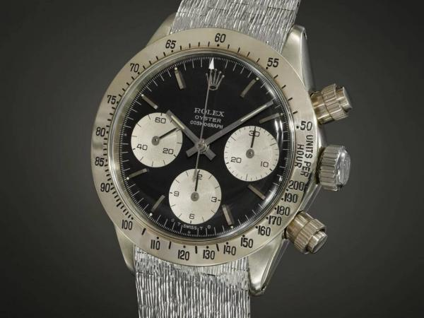 The unique white gold Rolex Daytona reference 6265 ロレックスデイトナユニコーン