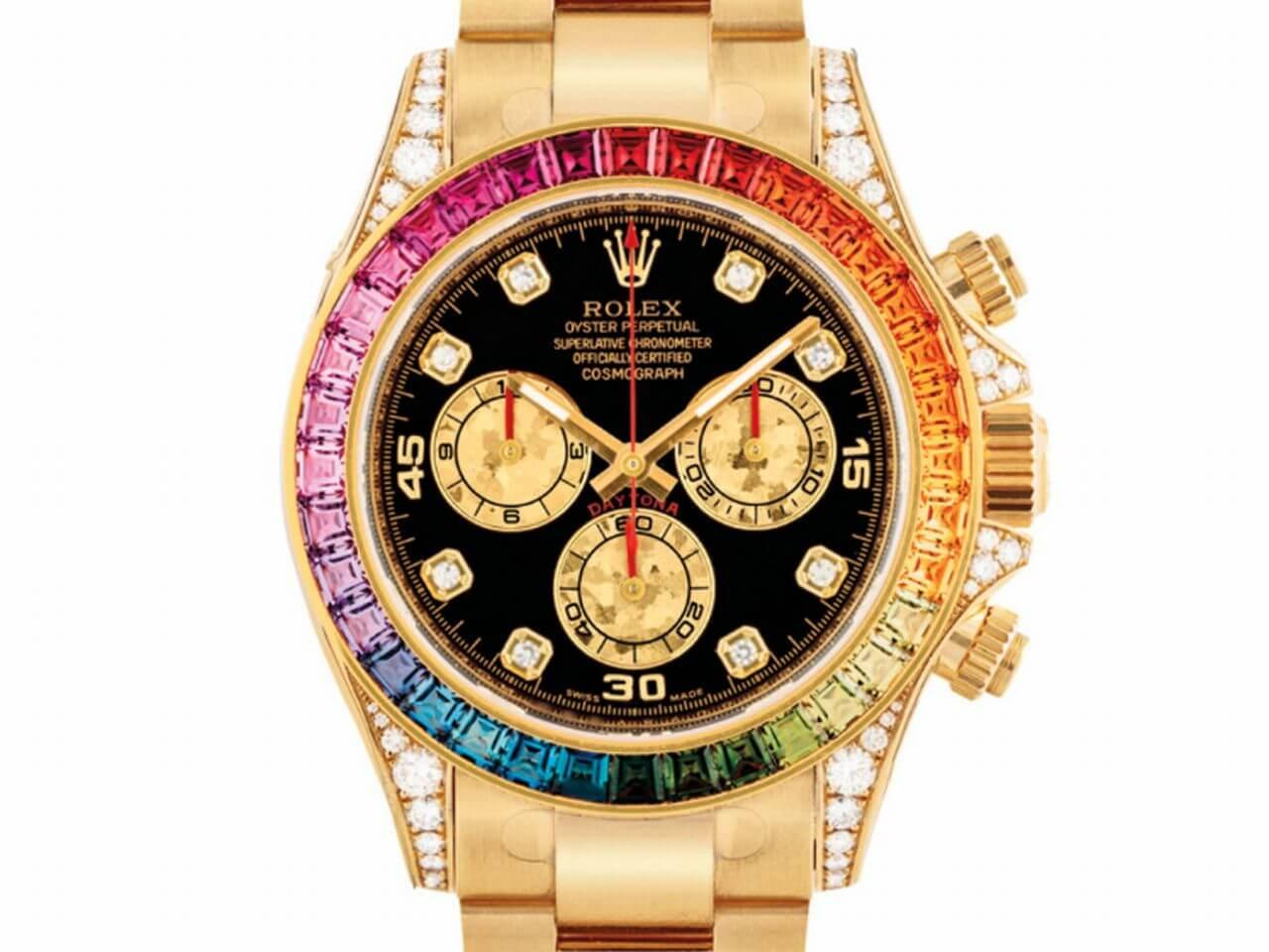 ROLEX REF. 116598RBOW