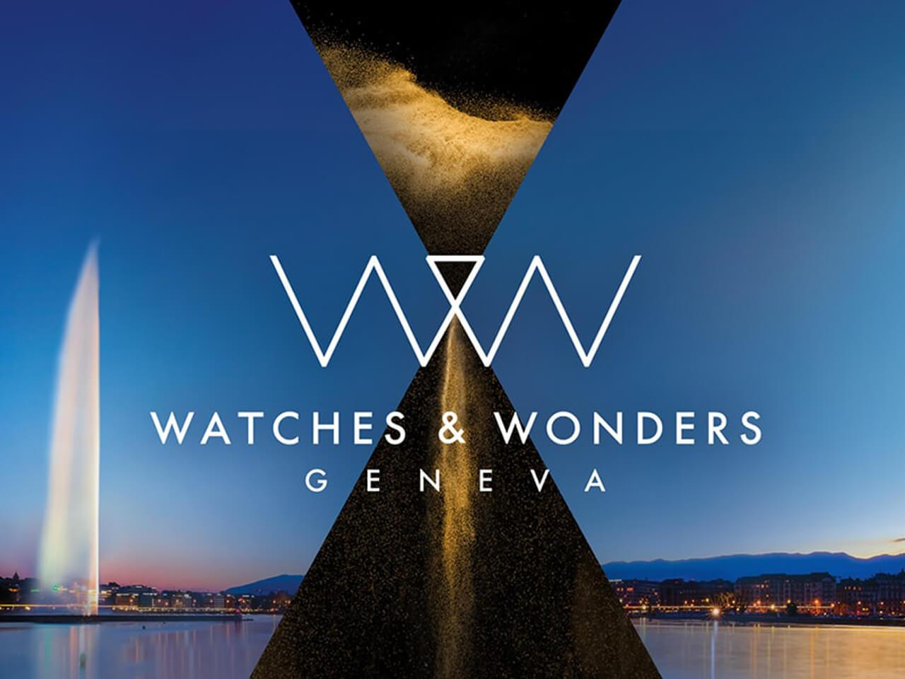 SIHH「WATCHES & WONDERS GENEVA」に名称変更!