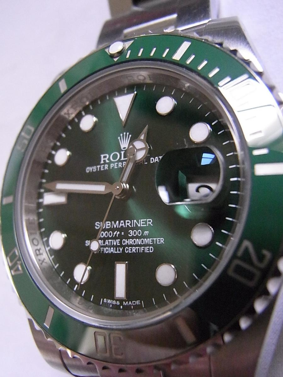 size 40 ed624 289ae ロレックス サブマリーナ 116610LV(グリーンサブ ランダム ...
