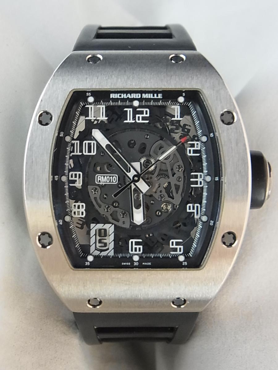 100% authentic 50952 dc9f9 リシャールミル RM010 Automatic(ホワイトゴールド オープン ...