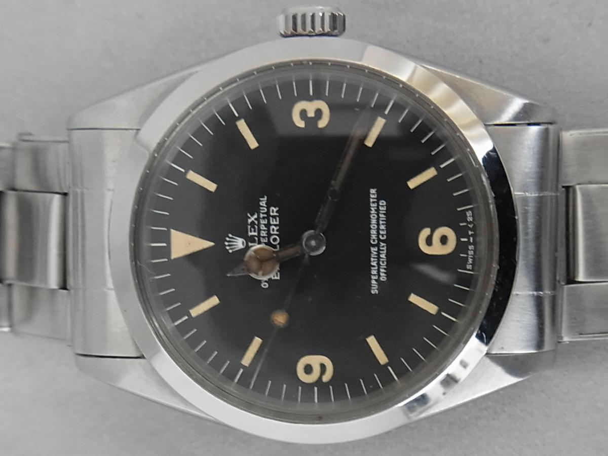 detailed look 4b7a5 c0bc8 ロレックス エクスプローラー 1016(1963年製 前期、ミニッツ ...