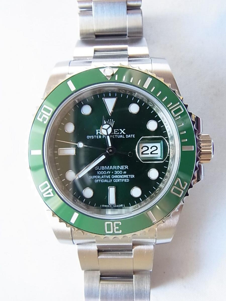 various colors 813f8 601bf ロレックス サブマリーナ 116610LV(グリーンランダム、グリーン ...