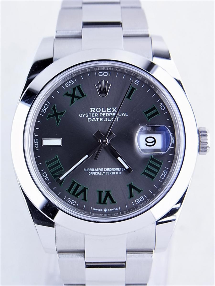 big sale 76dbf 278e5 ロレックス デイトジャスト 126300(グレーローマン、グレー ...